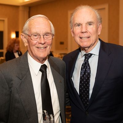 Charlie Duke and Roger Staubach 2019 Legacy Award Dinner Executive Chair
