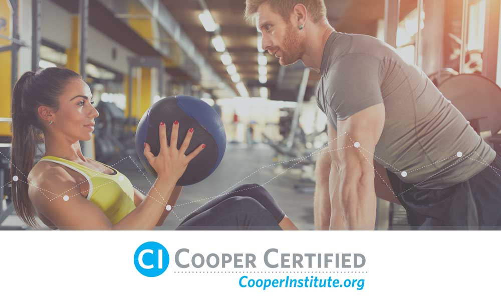 certified personal trainer - cooper institute