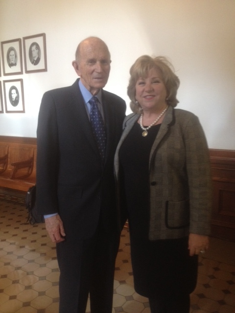 Dr. Cooper and Sen. Nelson