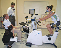 Bicycle VO2 Max Test