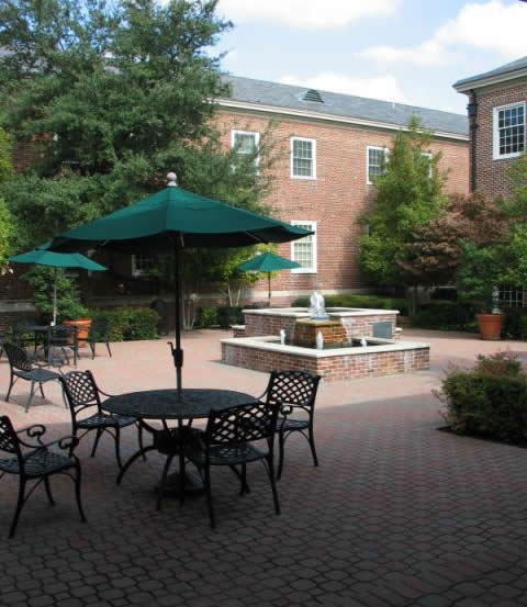 Cooper Institute Courtyard