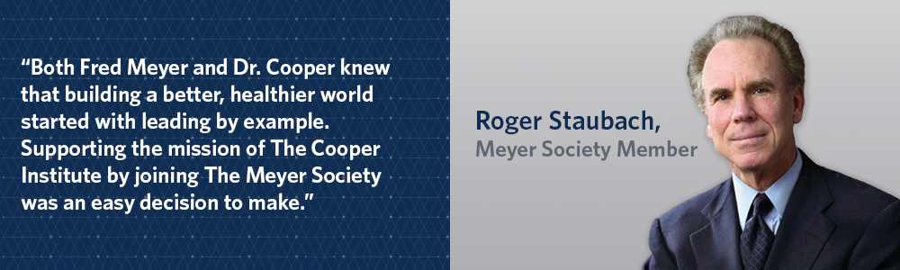 The Fred Meyer Society Planned Giving Cooper Institute