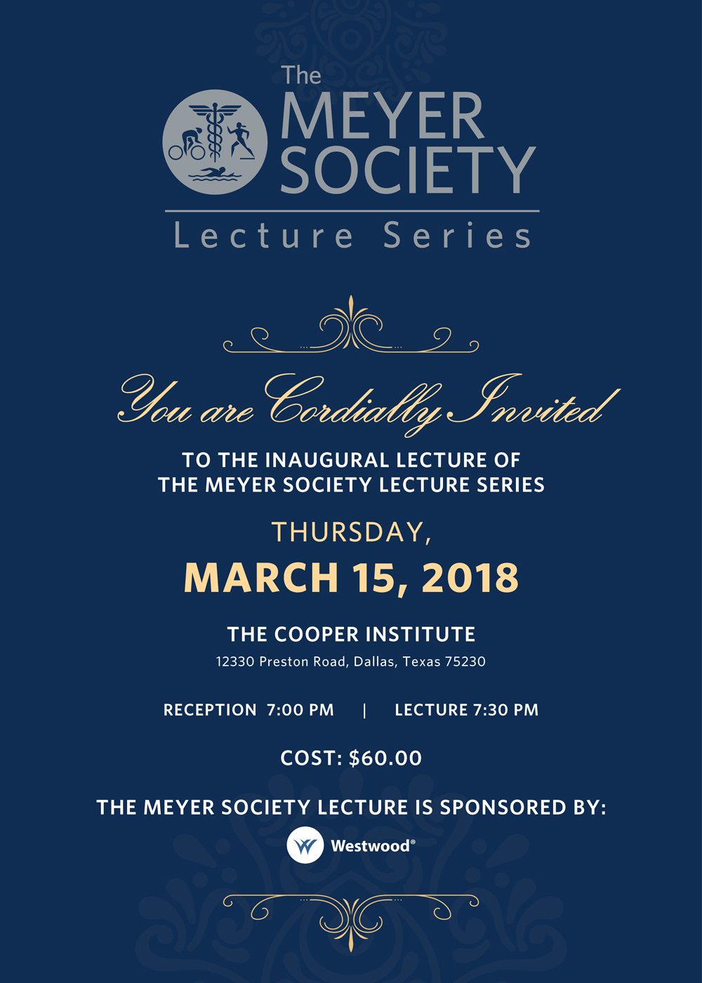 The Meyer Society Lecture Series feauring William H. McRaven - Purchase Your Tickets Today!